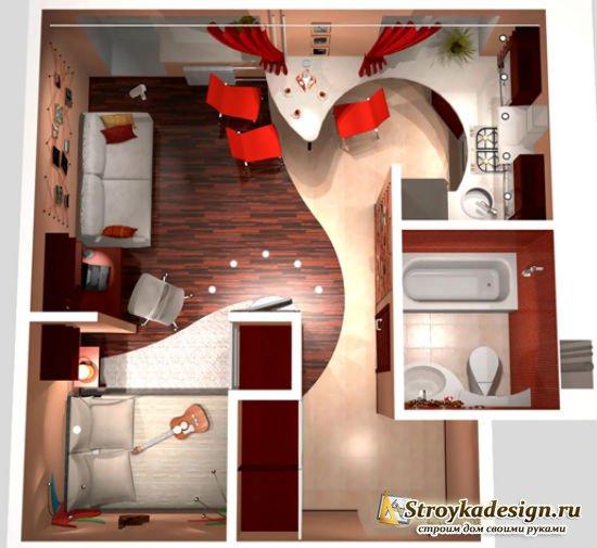 Ремонт однокомнатных квартир в панельных домах