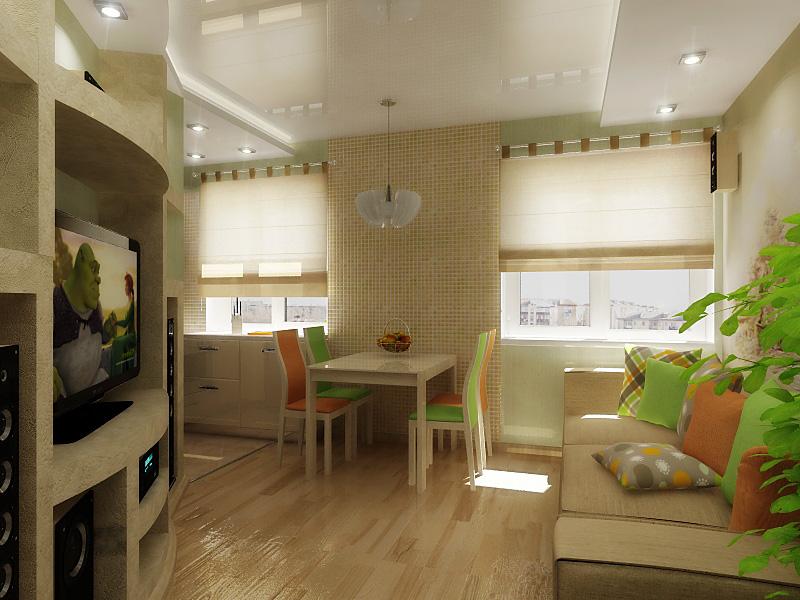 Ремонт дизайн 3-х комнатной хрущевки