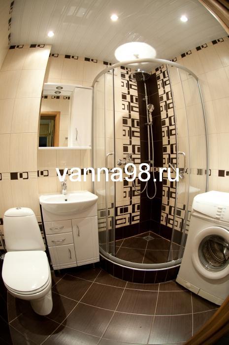 Совмещенная ванная комната с санузлом для хрущевки дизайн