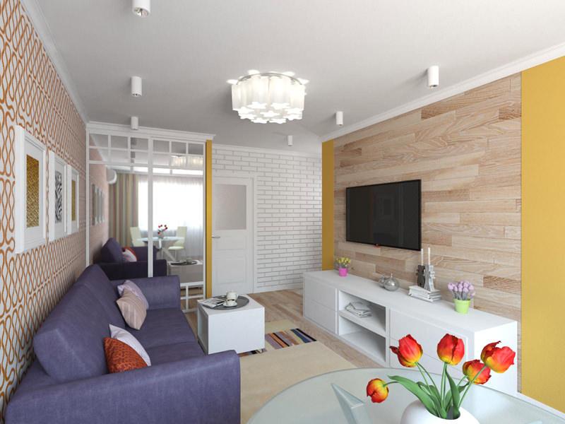 Фото двухкомнатной квартиры хрущевка дизайн