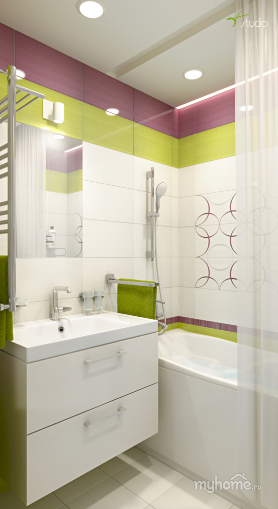 Дизайн ванной 2 5 квм
