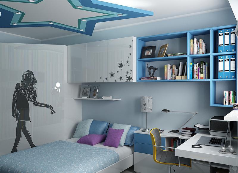 Дизайны интерьера для подростков