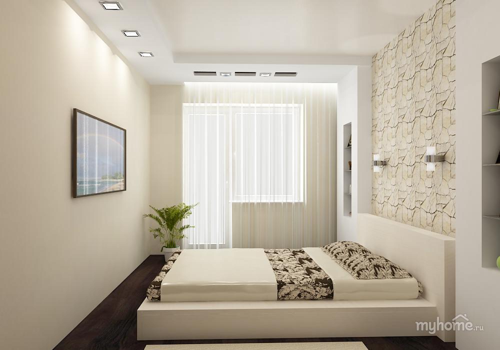 Спальни дизайн простые