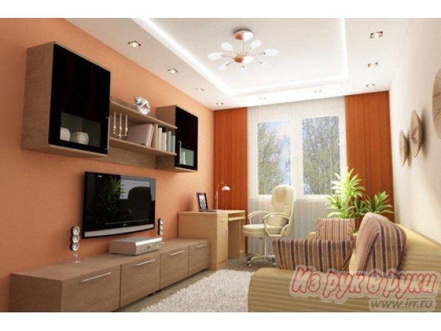 Фото дизайна зала квартиры попроще