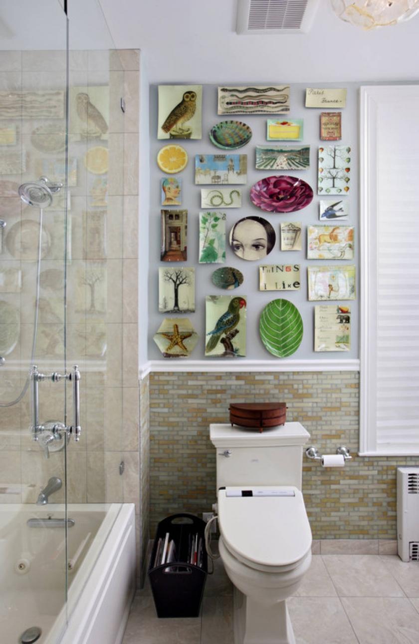 Как сделать декор в ванной комнате