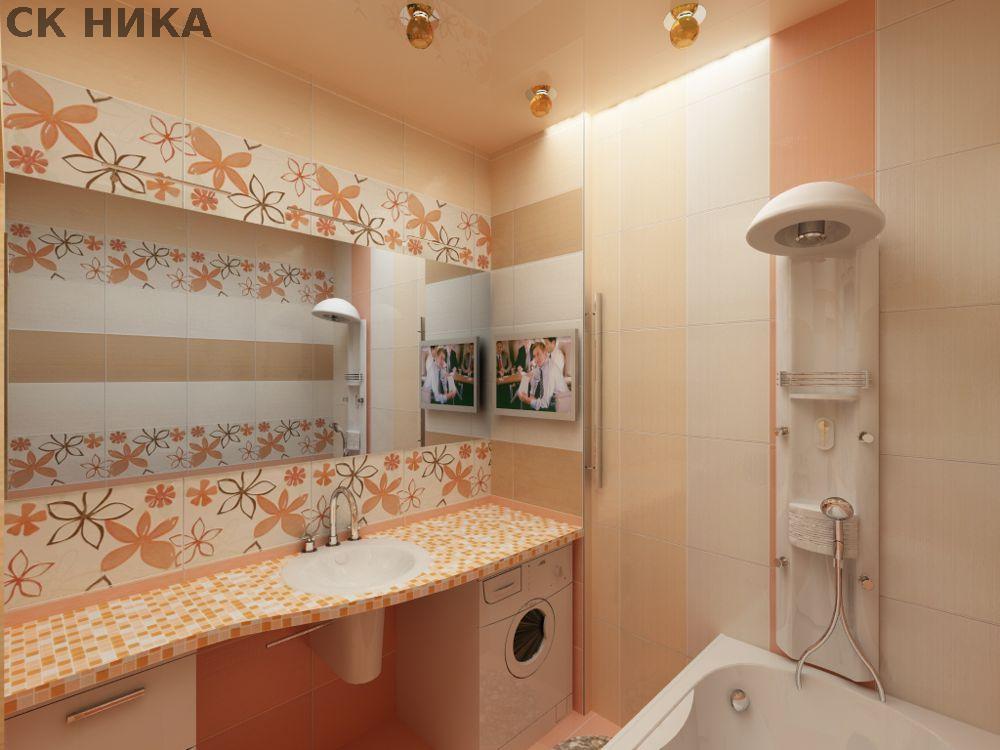 Дизайн ремонт в ванной комнате