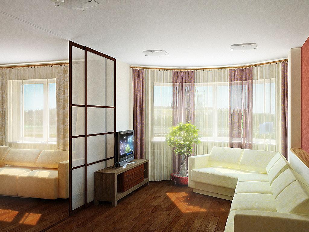Варианты дизайна комнат хрущевок