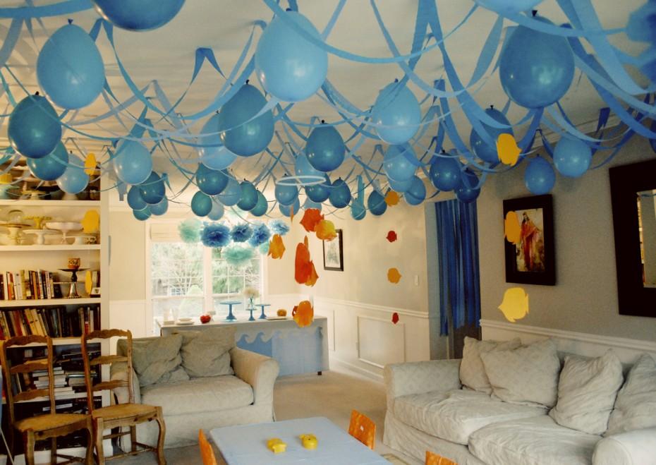 Как украсить комнату для дня рождения