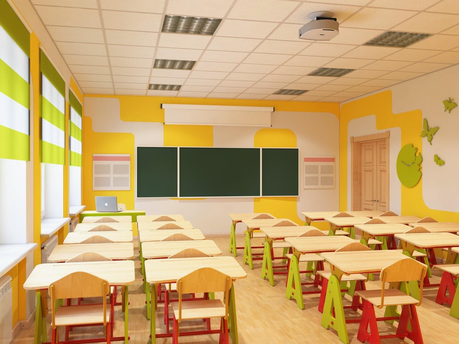Дизайн учебного кабинета в школе