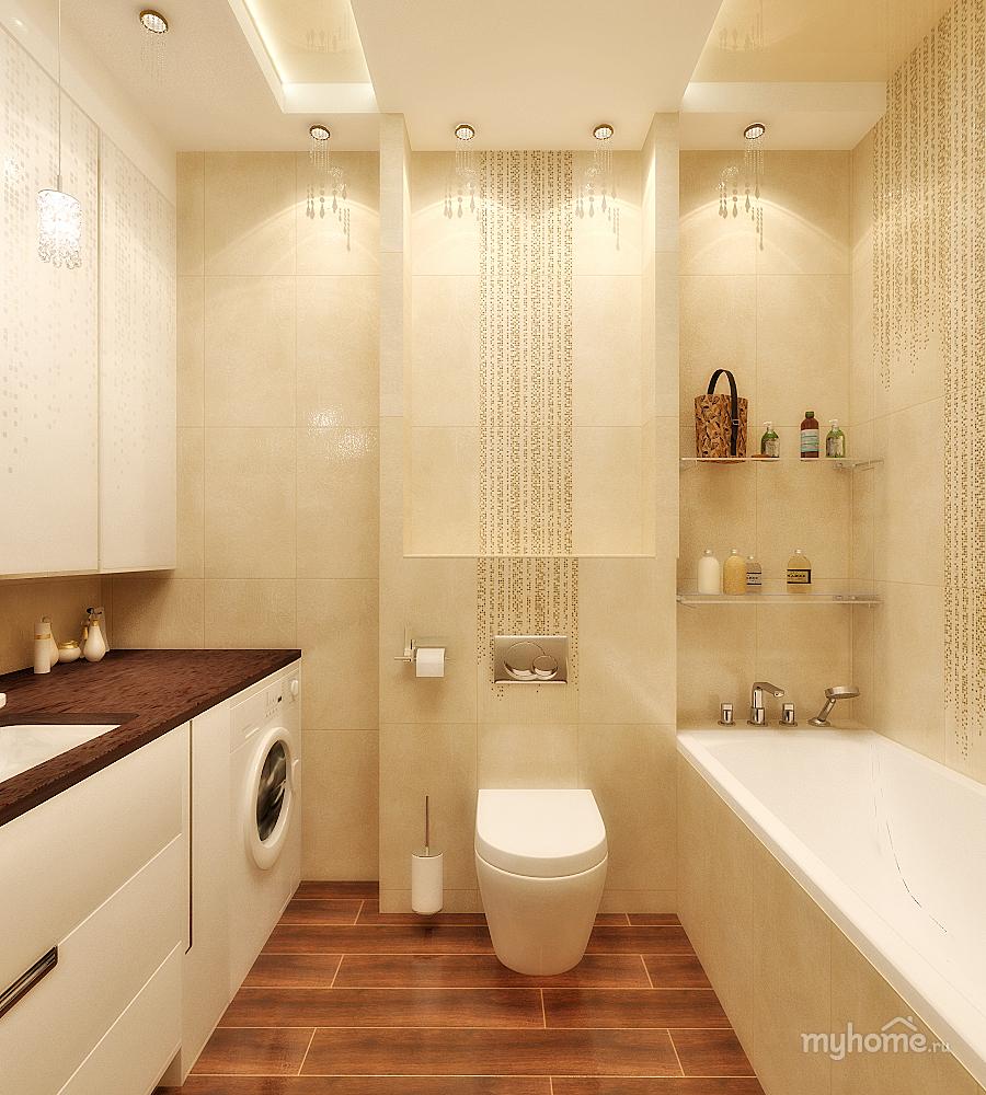 интерьер ванной санузел фото