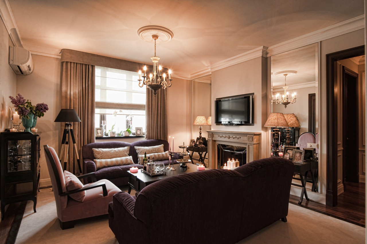 Дизайн интерьера квартир современная классика