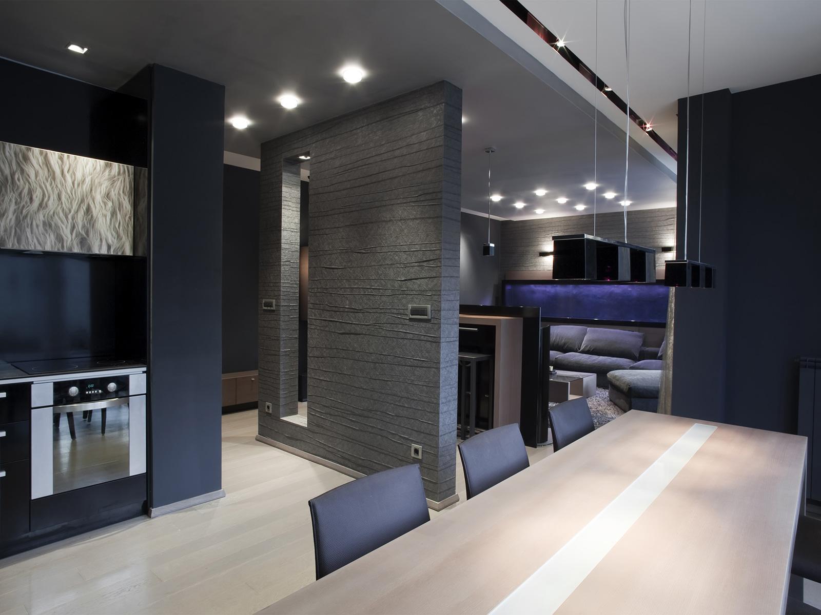 Фото дизайна квартиры в стиле хай тек