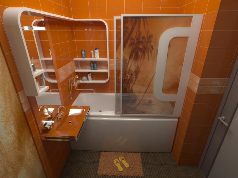 Ванна комната маленькая без туалета дизайн
