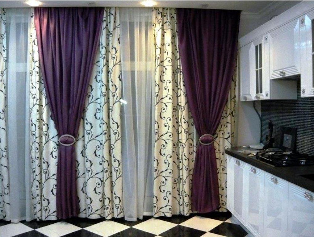 Гардины и шторы в интерьере фото