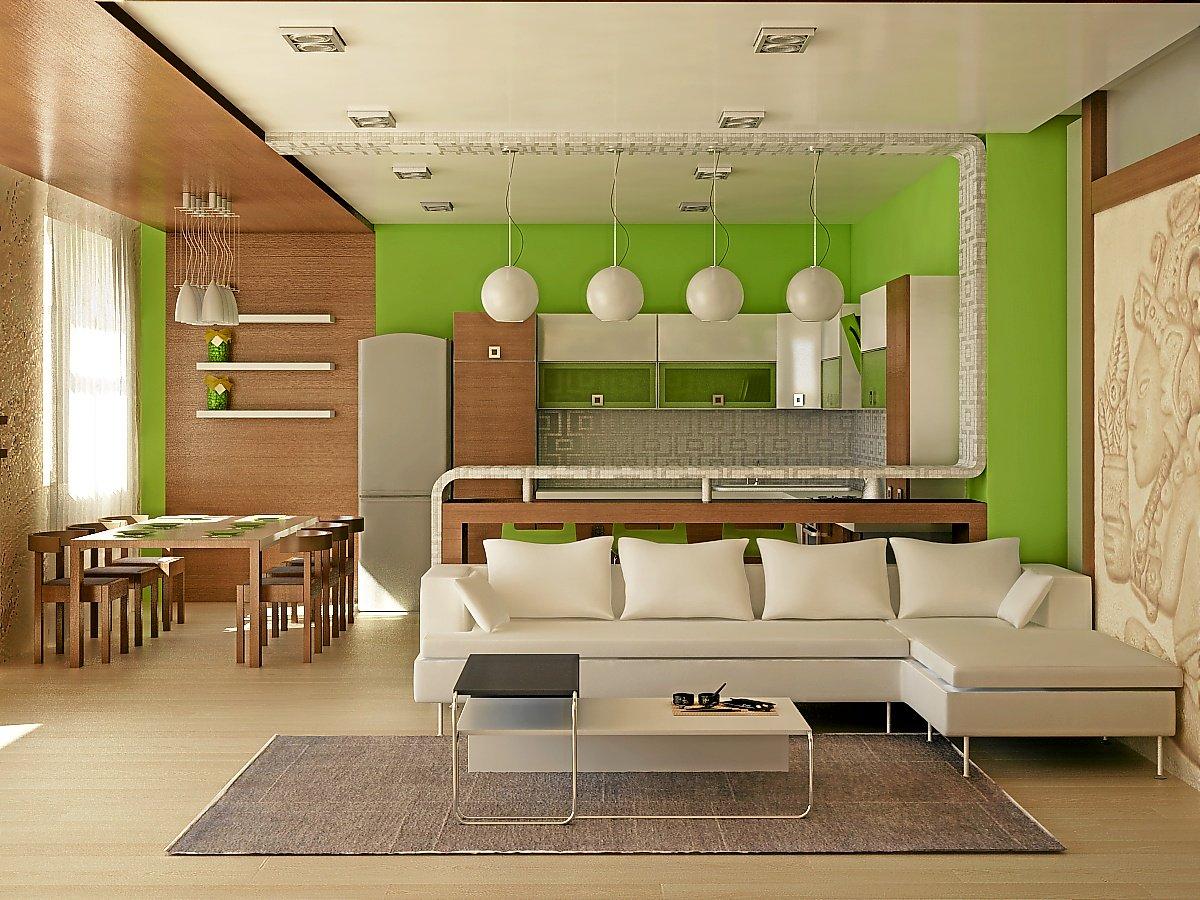 Планировка и дизайн зала