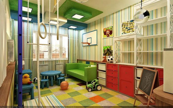будет работать игровая комната детям дома идеально подходящем