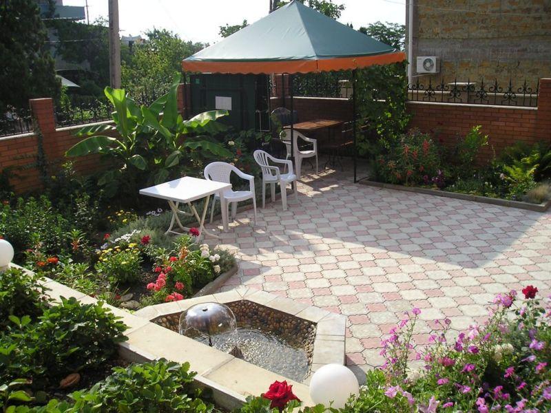 Идеи двора частного дома своими руками