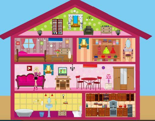 Игры для девочек бесплатно дизайн дома