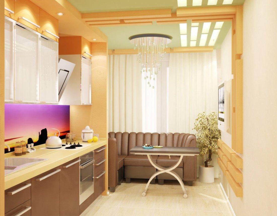 Объединение балкона с кухней (53 фото): видео-инструкция по .