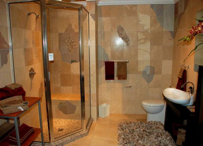 после бритья как оформить ванную комнату душевой кабиной работать обогрев