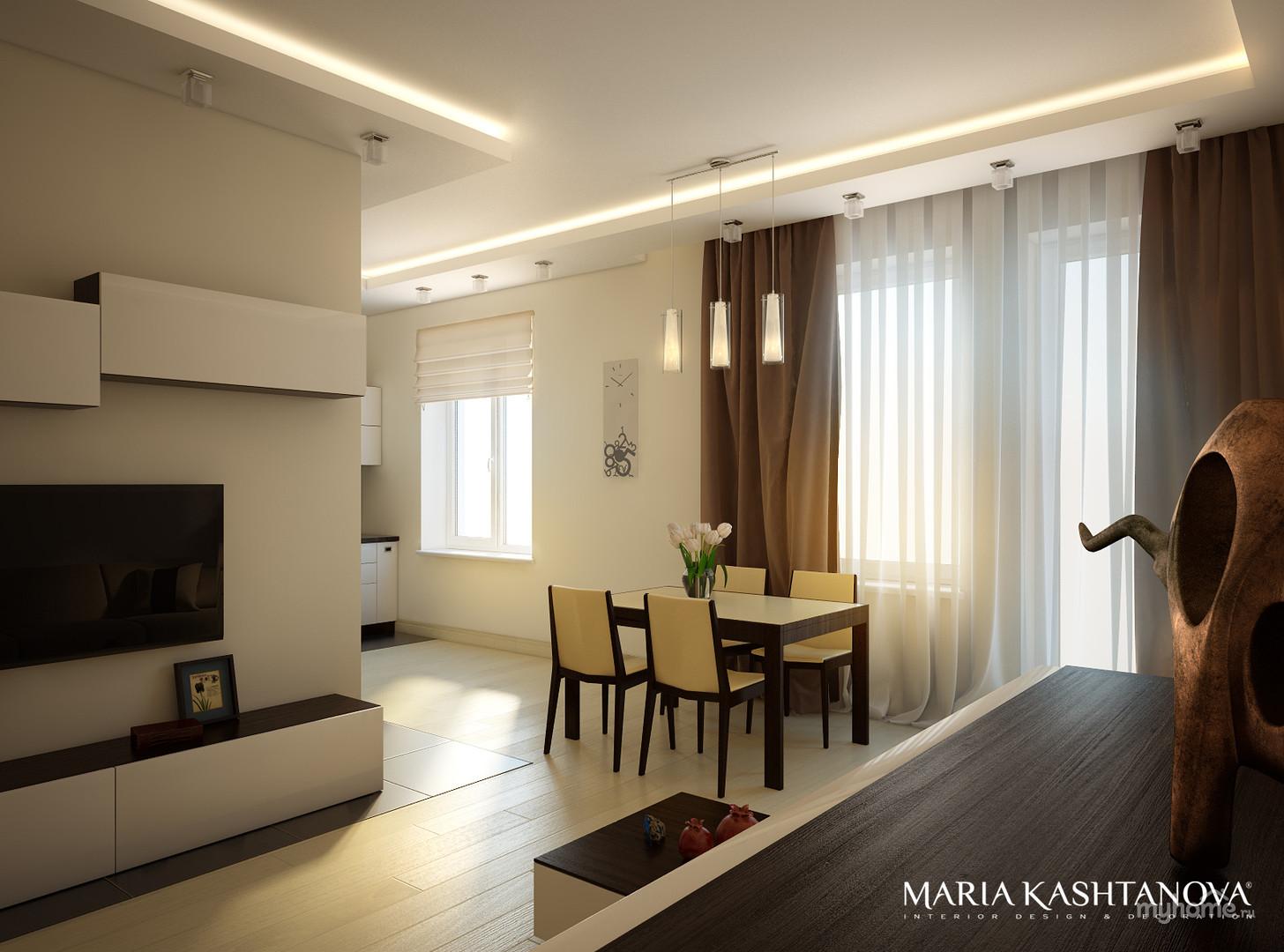 Дизайн 2 комнатной квартиры сталинки
