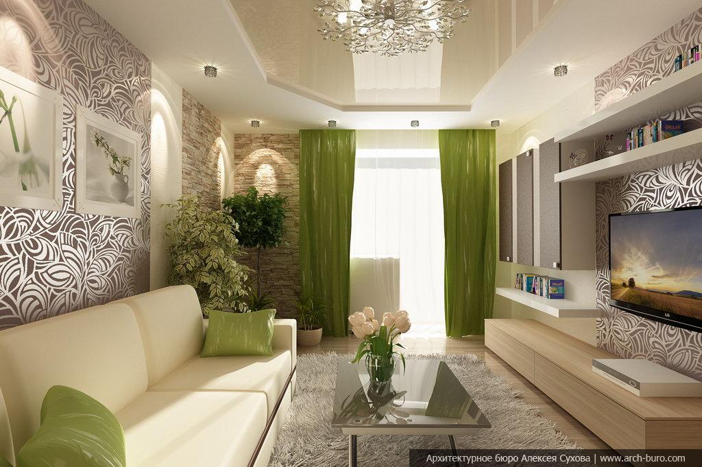 Эконом дизайн гостиной фото 2015 современные идеи