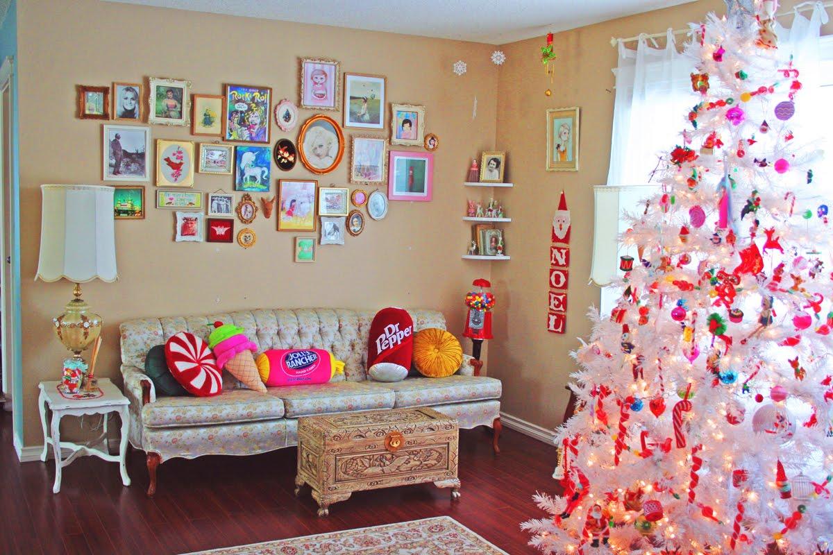 Идеи для новогоднего декора комнаты своими руками