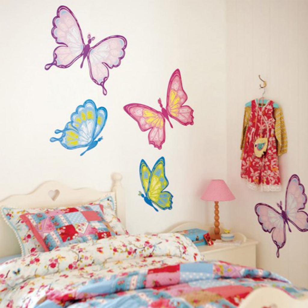 Рисунок своими руками на стене в детской комнате своими руками