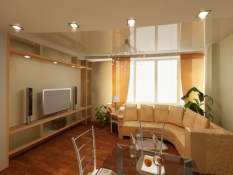 Дизайн двухкомнатной квартиры в новостройке