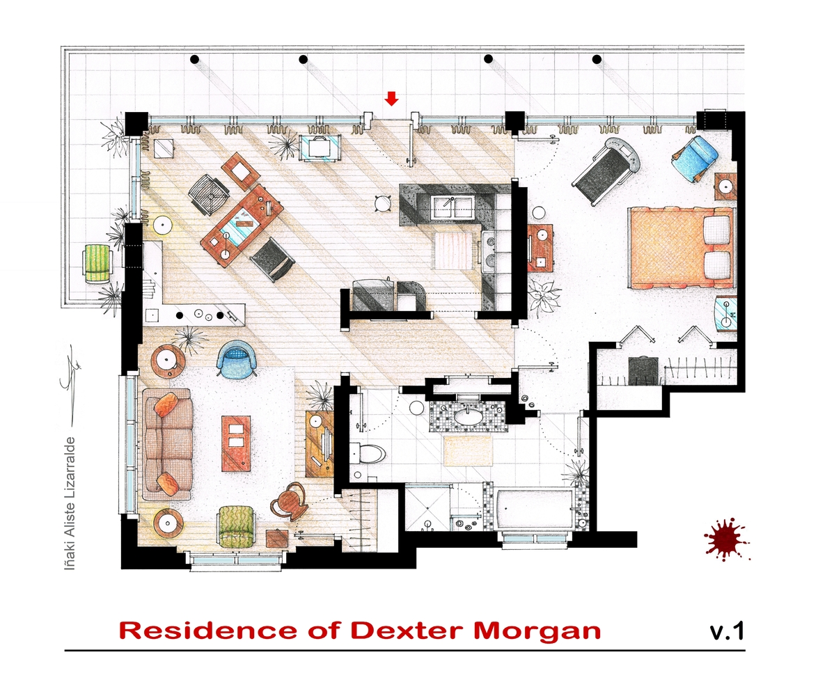 Схема дизайн интерьера квартиры