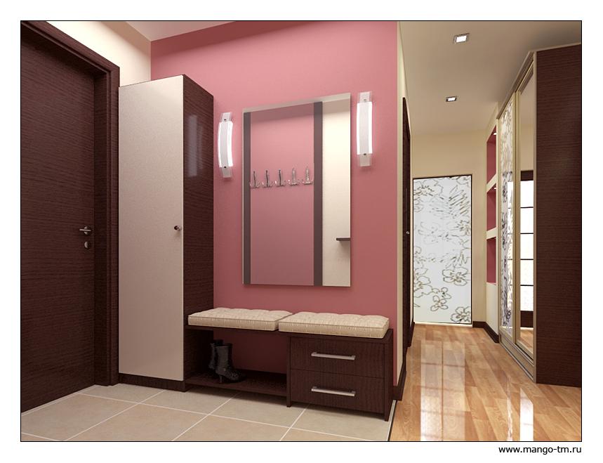 Маленькие прихожие в коридор дизайн в квартире