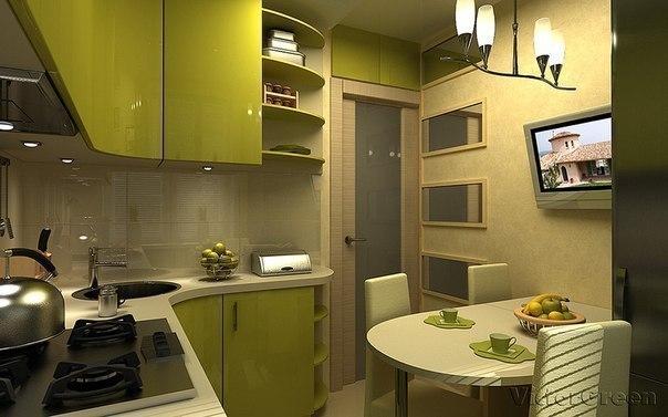Кухня дизайн 6кв