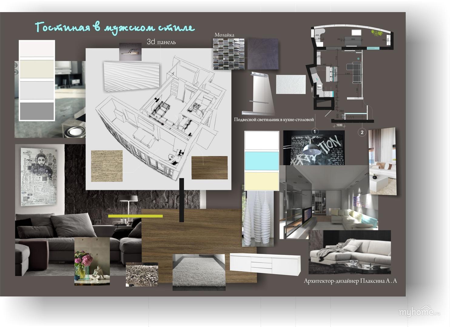 Помогите сделать дизайн проект квартиры
