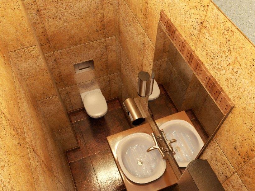 Ремонт туалетной комнаты фото 18