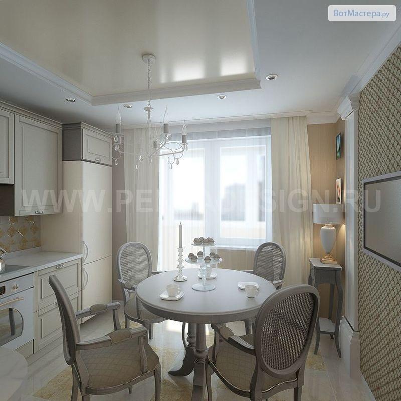 Дизайн в домах серии п 44т
