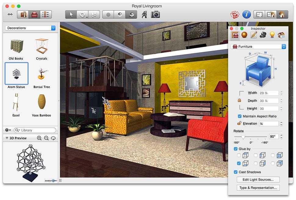 Программы дизайн комнаты добавить