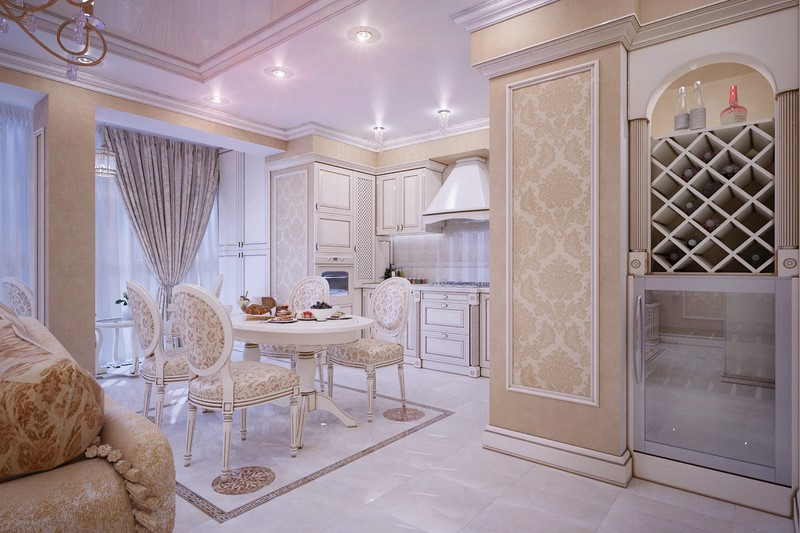 Интерьер и дизайн квартиры в классическом стиле