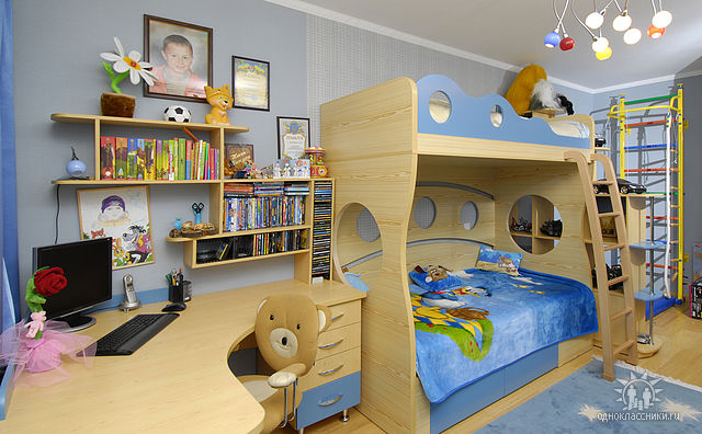 Детские комнаты своими руками для мальчиков фото