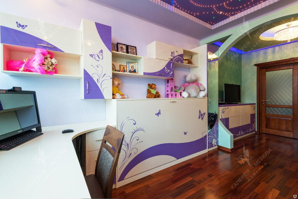 Дизайн детской комнаты 15 кв. для разнополых детей