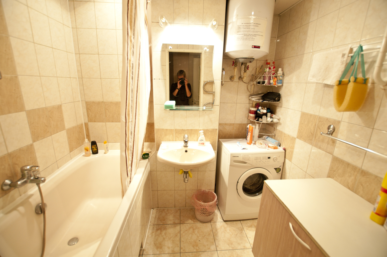 Фото дизайна ванной 4 квадрата