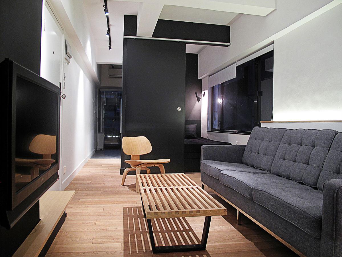 Дизайн квартиры-студии 32 кв.м