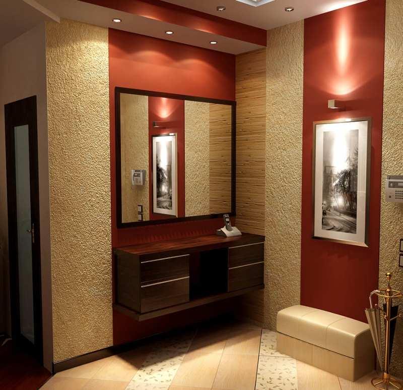 Дизайн малогабаритного коридора в квартире реальные