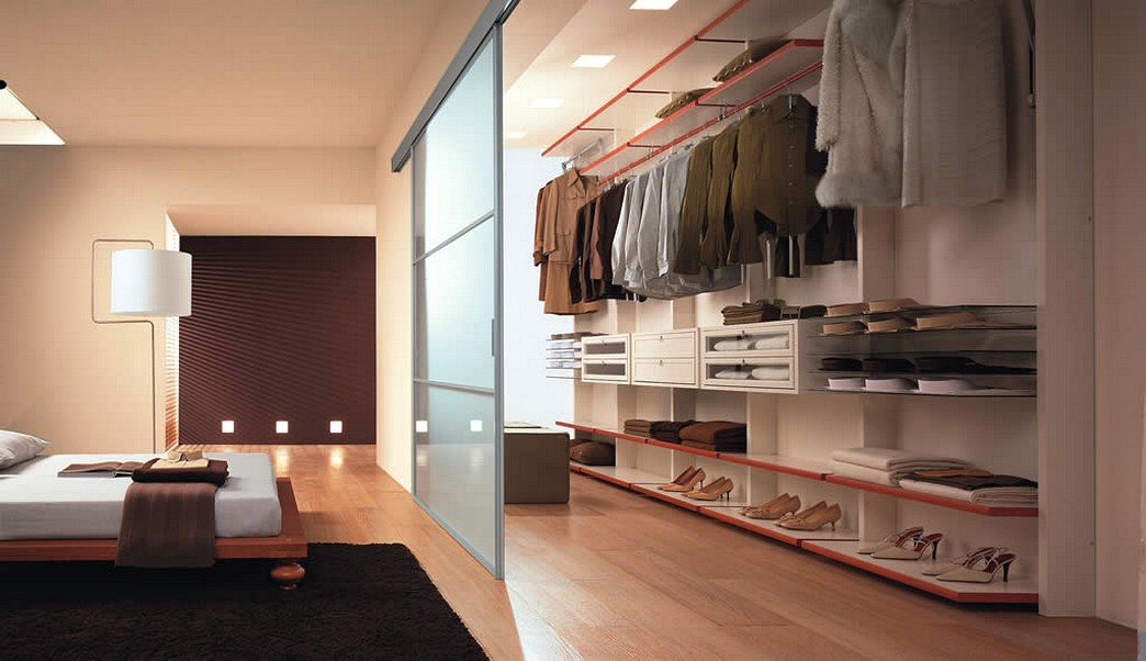 """Дизайн спальни гардеробной фото """" современный дизайн."""