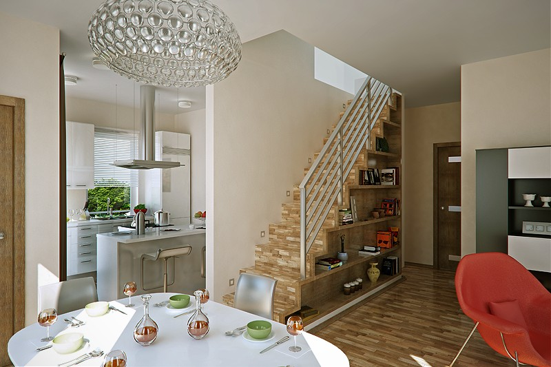 Дизайн квартиры в каркасном доме
