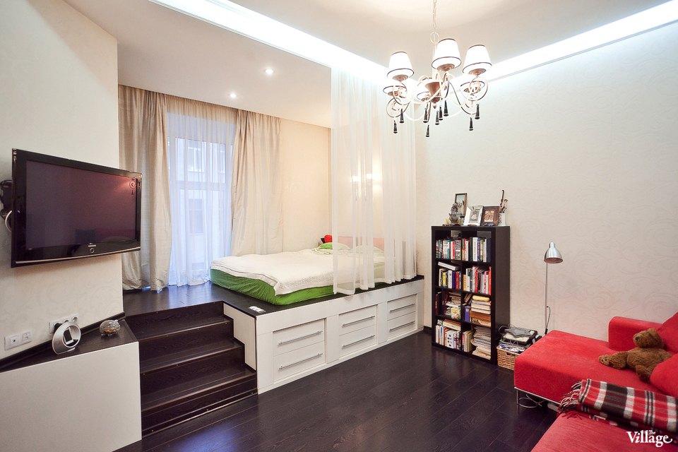 Дизайн интерьера квартиры студии своими руками