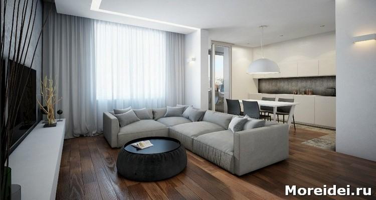 Дизайн интерьера квартир минимализм