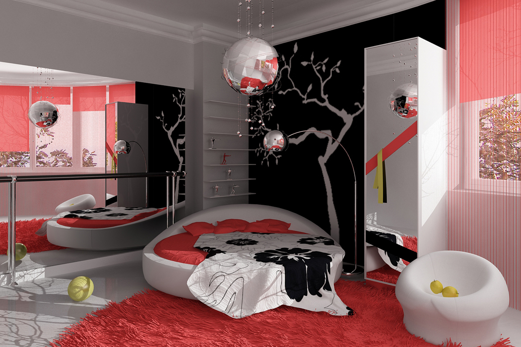 Дизайн комната для девочек