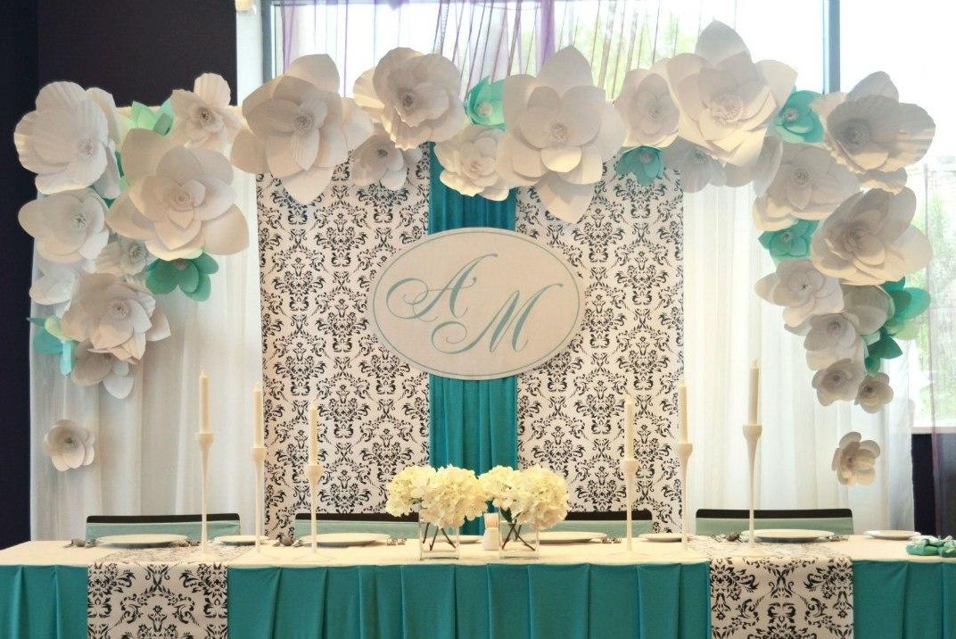Украшение зала на свадьбе своими руками