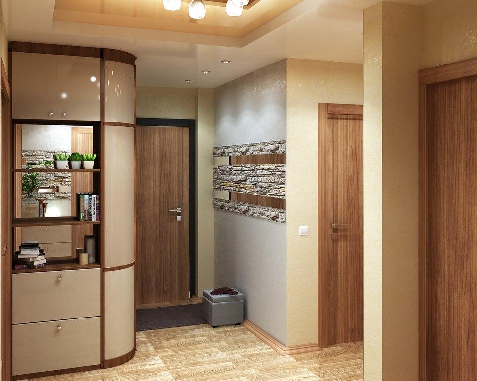 Коридор дизайн двухкомнатных квартир