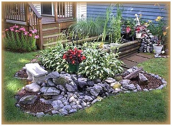 Как сделать красивым двор частного дома своими руками